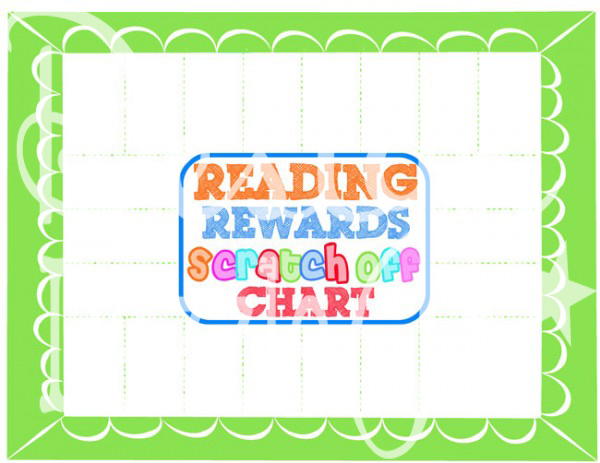 Blank Reading Rewards Chart