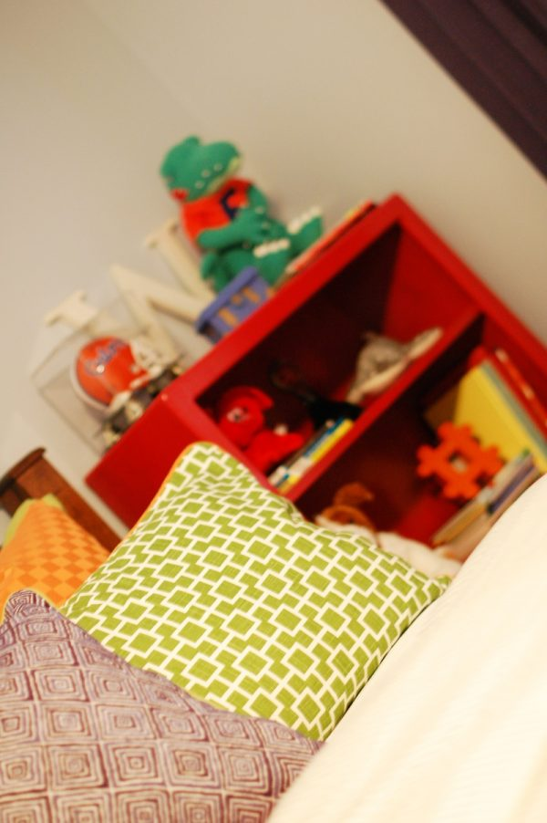 Contemporary Colorful Boys Room