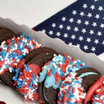 Summer Camp: Red, White and Patriotic Oreos