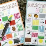 Summer Camp: Scavenger Hunt with FREE Printables