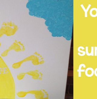 Summer Camp: You Are My Sunshine Canvas Art