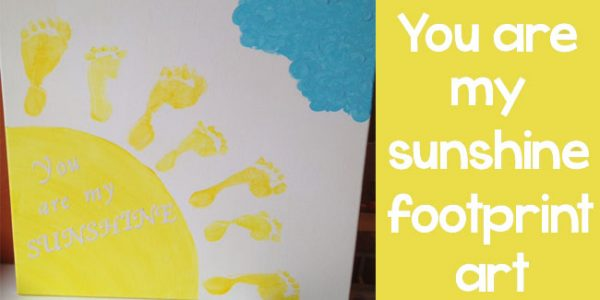 Design Dazzle Summer Camp - footprint art