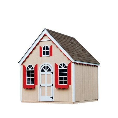 playhouse made from a shed