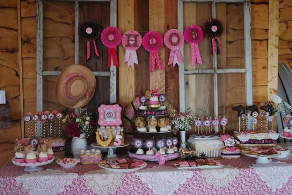 cowgirl princess party
