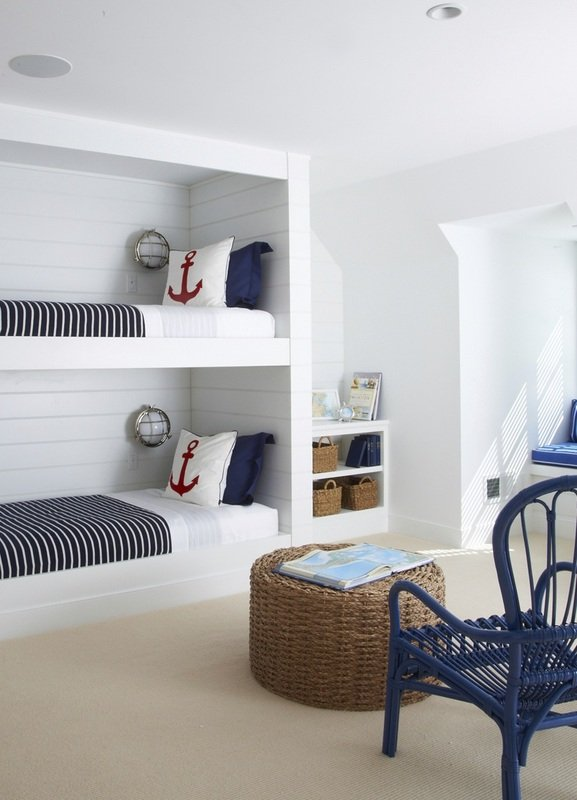 Red White And Blue Room ideas for red, white and blue kids rooms - design dazzle