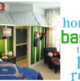 20 Home Run Baseball Theme Rooms
