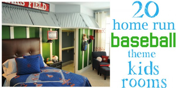 20 home run baseball kids rooms - Design Dazzle