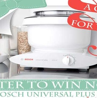 A Bosch $500 Giveaway!