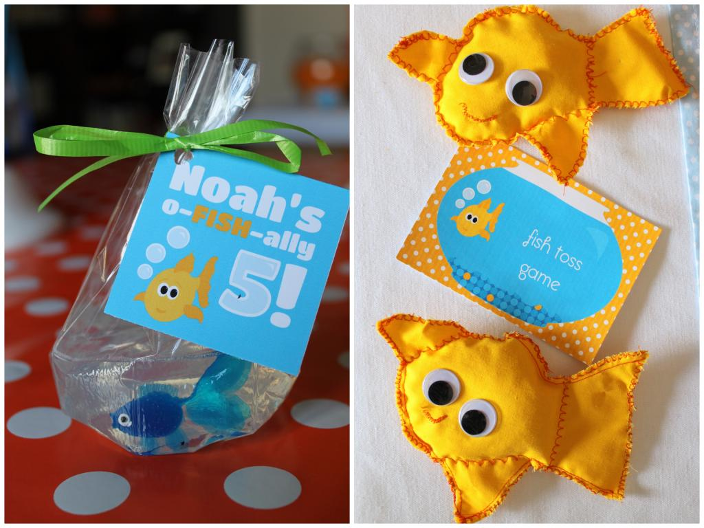 Go fish birthday party design dazzle for Fish party supplies