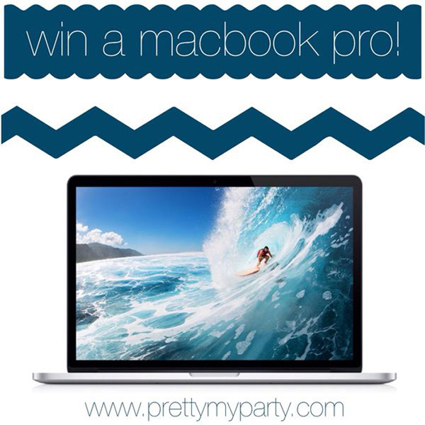 macbook pro giveaway- Design Dazzle