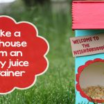 Make a Birdhouse From An Empty Container