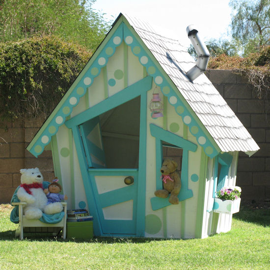 amazing playhouses treehouses design dazzle. Black Bedroom Furniture Sets. Home Design Ideas