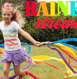 Summer Camp: Rainbow Bird Streamers