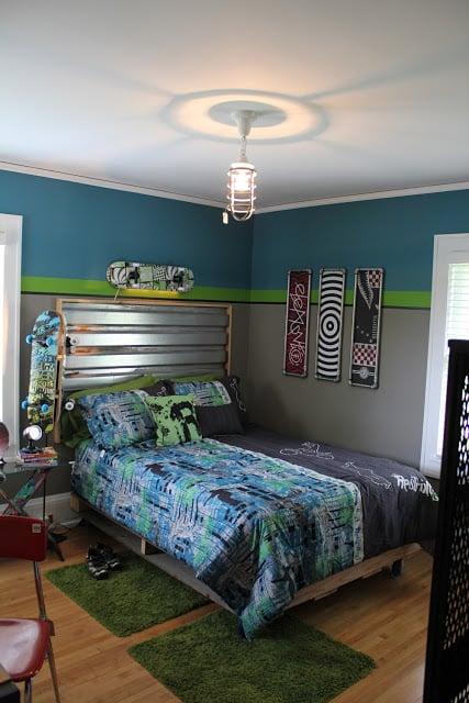 A Skateboarder S Dream Room Design Dazzle
