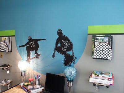 a skateboarders dream room - Skater Bedroom Ideas