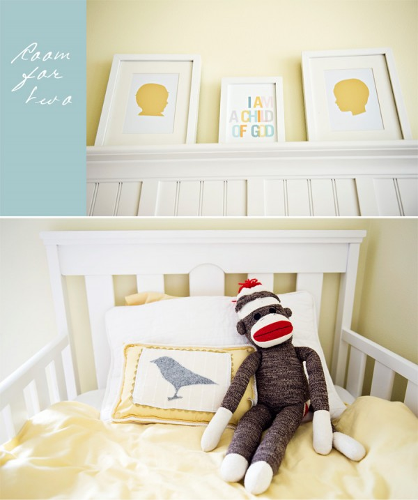shared boy and girl room details