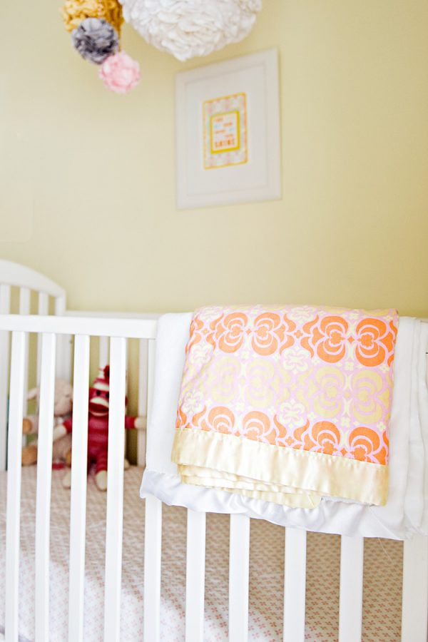 nursery and toddler shared room crib