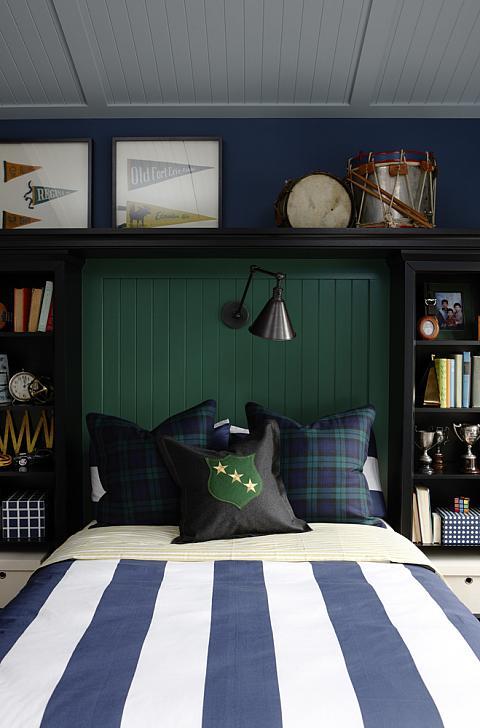 Teen Boy's Bedroom Ideas