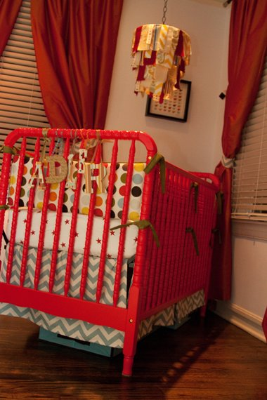 Colorful Cribs For The Nursery Design Dazzle
