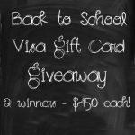 Back To School Visa Gift Card Giveaway – Closed