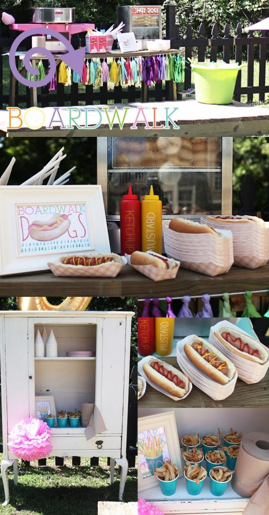 By the Boardwalk hot dogs and treats