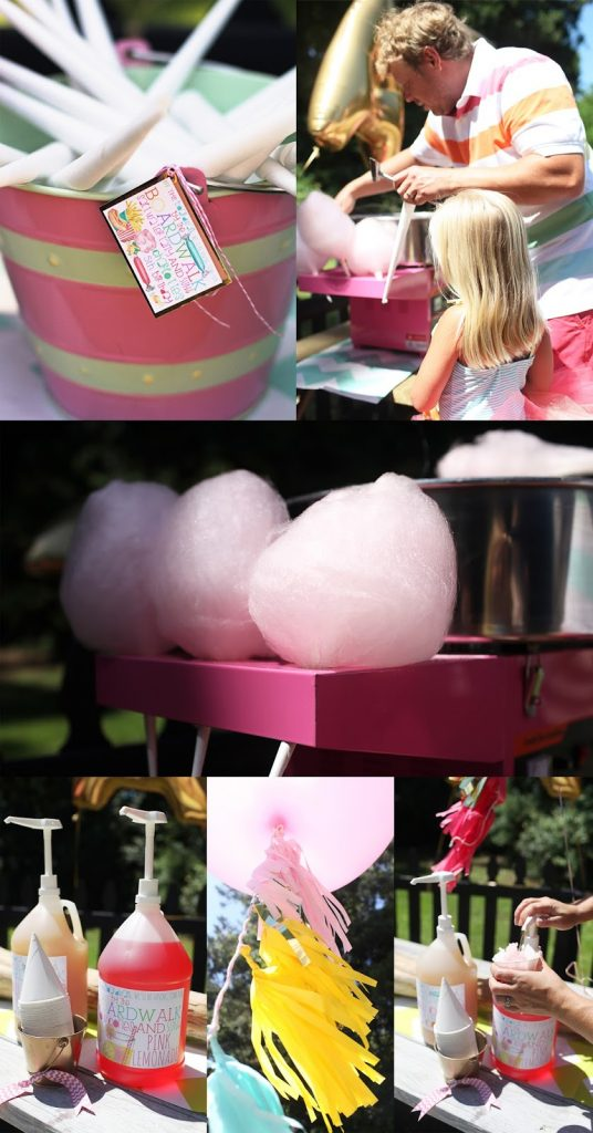 By the Boardwalk cotton candy treats