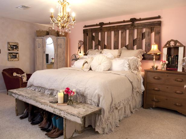 Country Chic Bedroom Decorating Ideas: Cowgirl Room Ideas