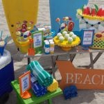 Toddler Friendly Beach Bash