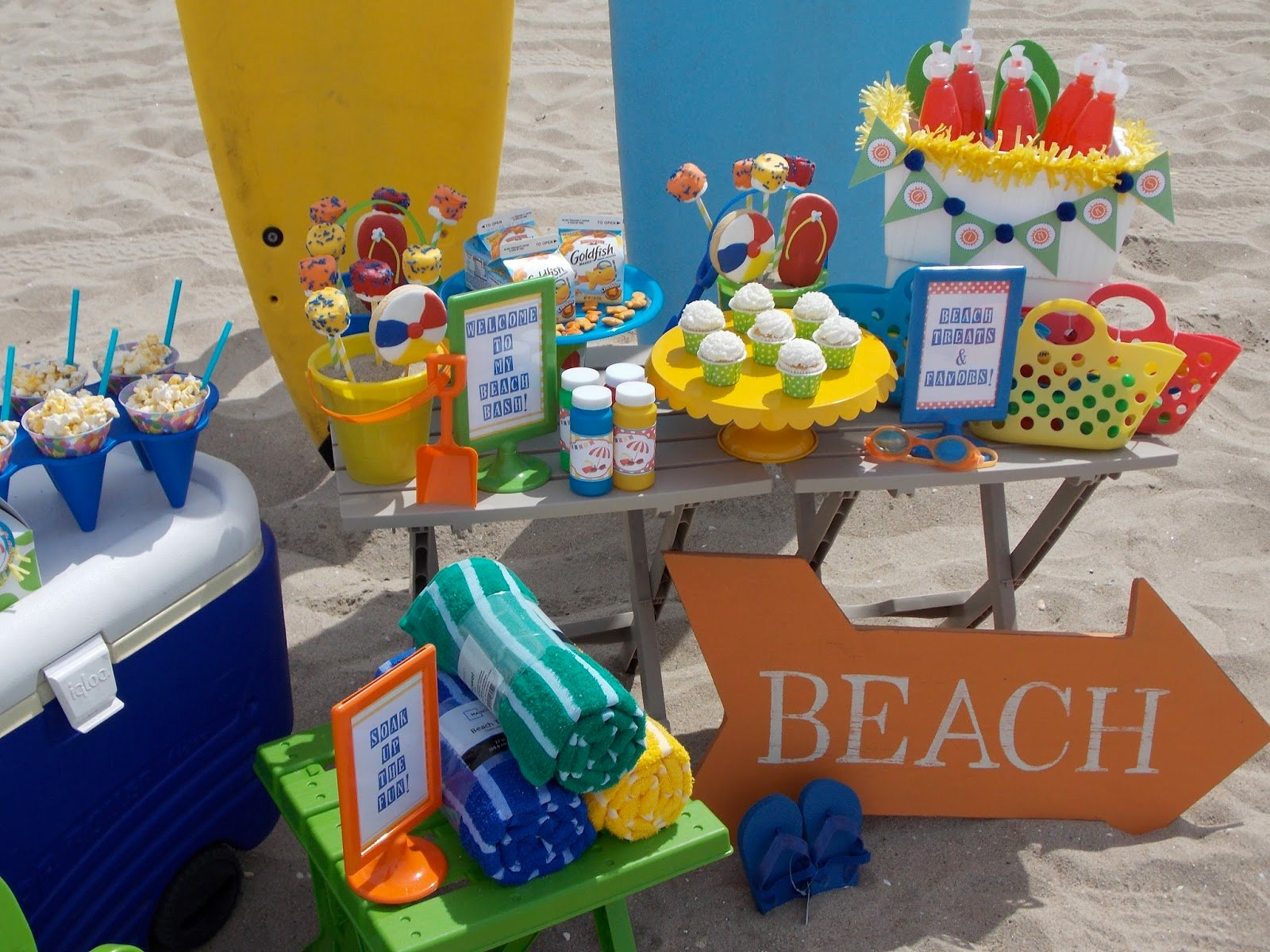 & Toddler Friendly Beach Bash - Design Dazzle