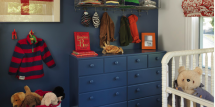 contemporary urban boys nursery