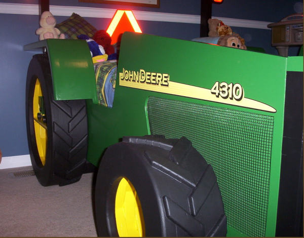 Boys Construction Trucks And Tractor Bed Ideas Design Dazzle
