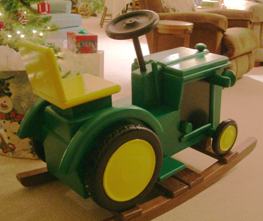 Although not a tractor bed it certainly is adorable! Loving this cute ...