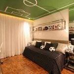 Modern Soccer Teen Bedroom