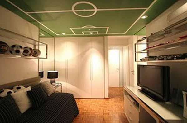 modern soccer teen bedroom - design dazzle