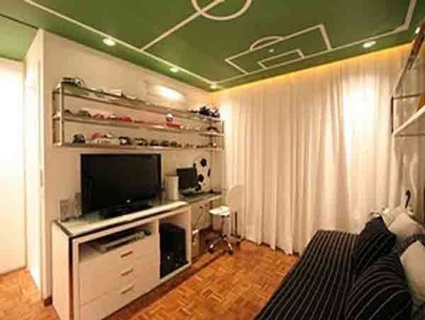 modern soccer teen bedroom - Teenager Bedroom Designs