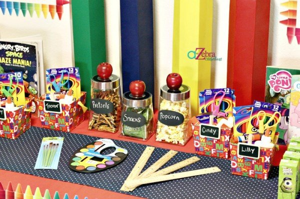 Back to school party design dazzle for Back to school party decoration ideas