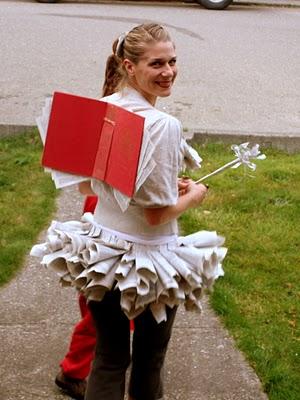 DIY book fairy halloween costume -- Design Dazzle