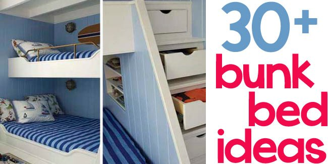 bunk bed ideas - Design Dazzle