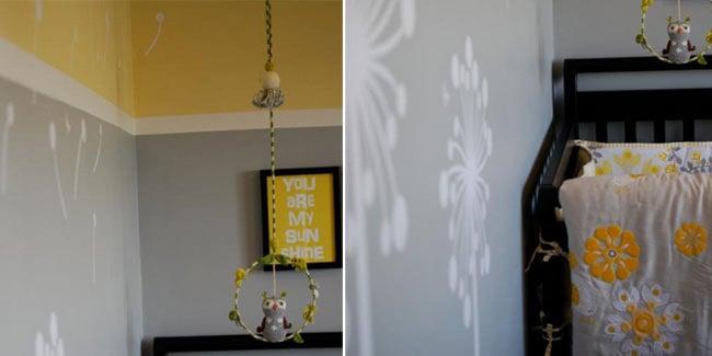 Contemporary Yellow Amp Gray Sunshine Nursery Design Dazzle