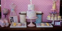 sew cute as a button dessert table