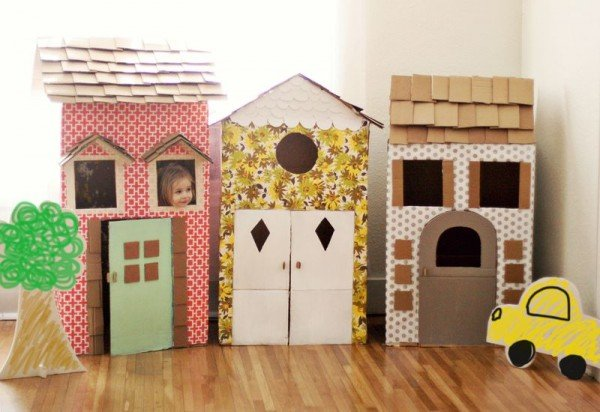 15 Cardboard Creations to make for kids-- Design Dazzle