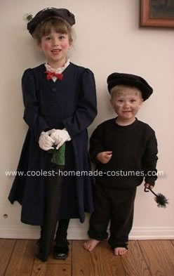 Mary Poppins and Bert DIY costumes -- Design Dazzle
