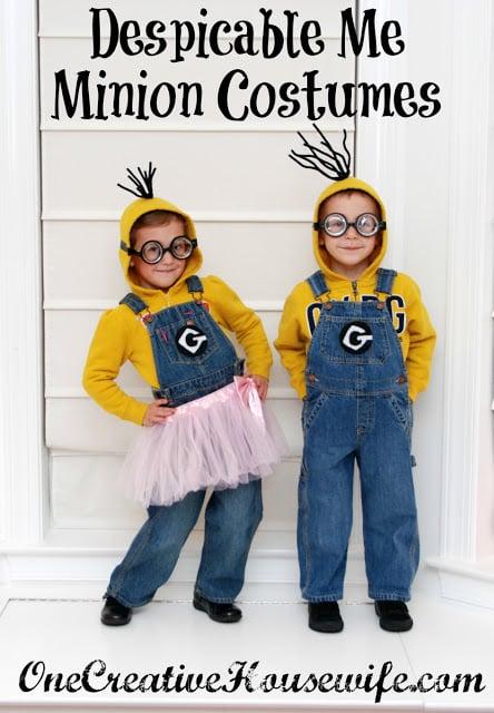 No-Sew Kids Halloween Costumes -- Design Dazzle