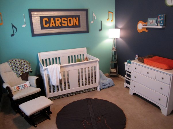 Rock On A Music Themed Nursery