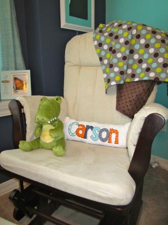 music themed nrusery chair