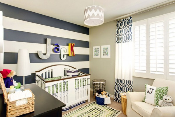 Nursery Rooms Stripes Stripes And More Stripes