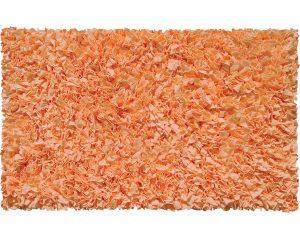 Bright orange rug