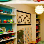 Organized Playroom Perfect For Kids