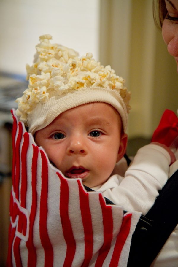 Popcorn DIY Kids Halloween Costumes -- Design Dazzle