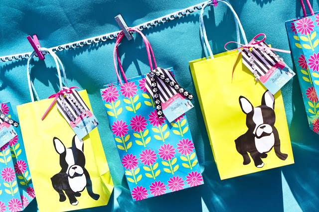 puppy parlor gift bags
